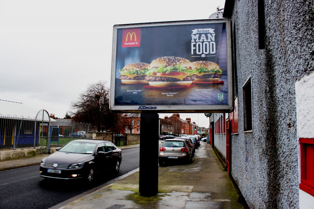 McDonald's outdoor advertising