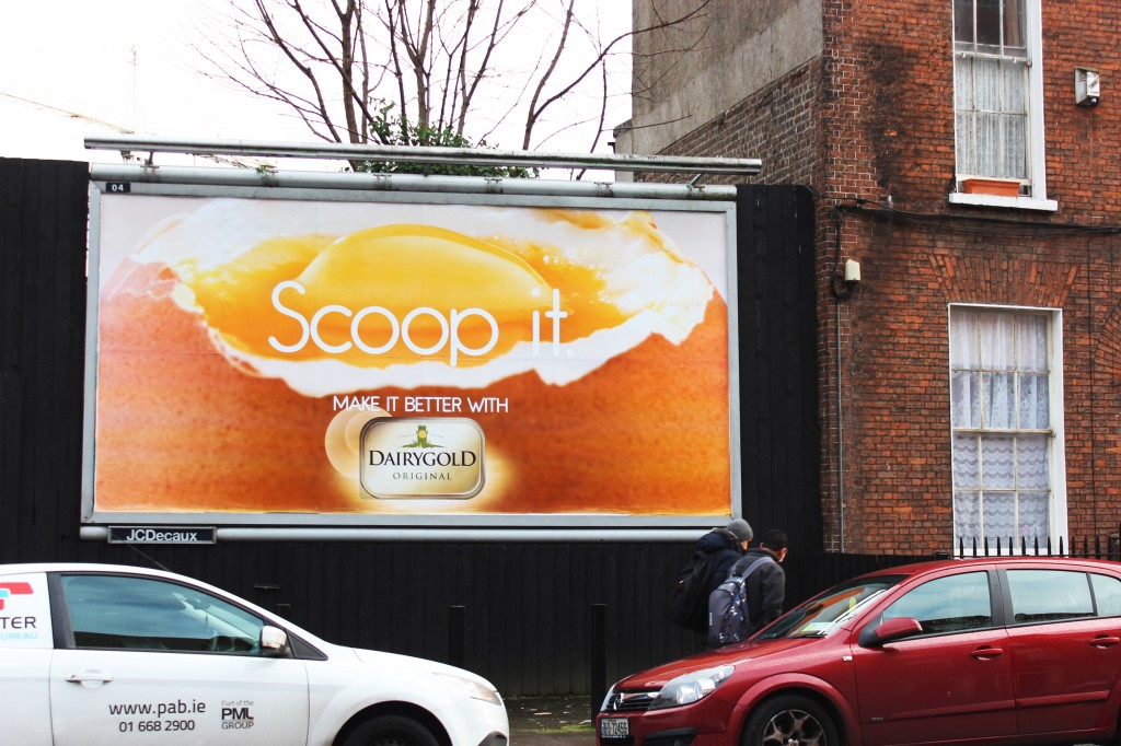 Dairygold outdoor advertising