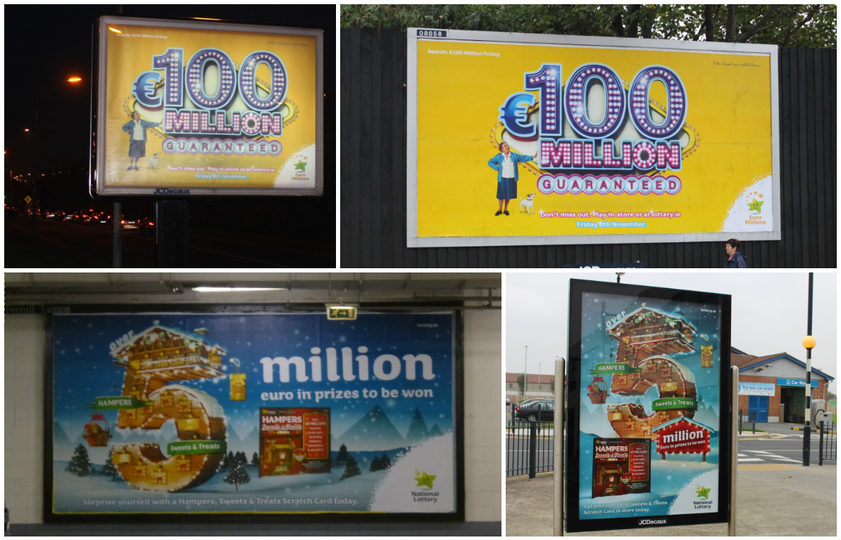 National Lotter Euro & scratch card